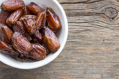 Dried Figs in a bowl Stock Photos