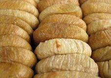 Dried figs full frame Royalty Free Stock Images