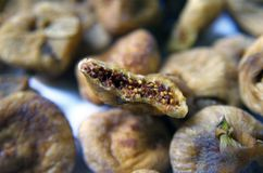 Dried Figs Royalty Free Stock Photos