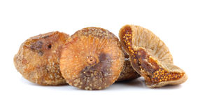 Dried figs isolated on white background Stock Photo