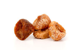 Dried figs isolated on white Stock Images