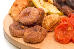 Dried figs and other fruits Stock Photos