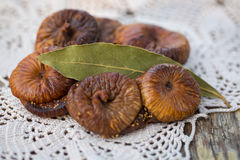 Dried figs pastries. Dried figs with almonds, a traditional pastry from Puglia, south of Italy Stock Photo