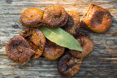 Dried figs pastries Stock Image