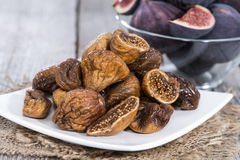 Dried Figs Stock Photography