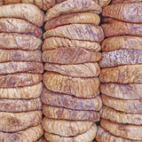 dried figs rows and columns Royalty Free Stock Images