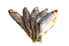Dried fish. Snack to beer Royalty Free Stock Photography