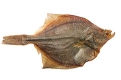 Dried fish. Isolated on a white background Royalty Free Stock Image