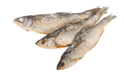 Dried fish. Isolated on a white background Stock Photo