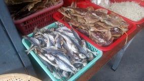 Dried fish Stock Image