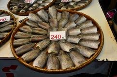 Dried fish or Gourami fish preserves Royalty Free Stock Photo