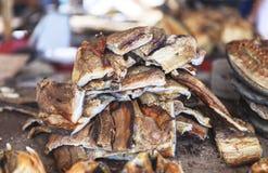 Dried fish Market in Labuan Bajo, Flores Island, Indonesia Stock Photos