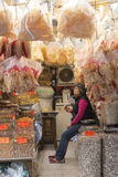 Dried fish market Stock Image