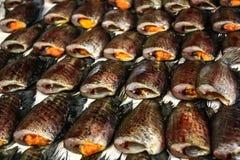 Dried Fish02 Royalty Free Stock Photos