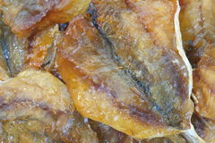 Dried fish snack Royalty Free Stock Photos