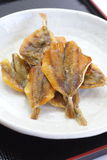 Dried fish snack Stock Photo