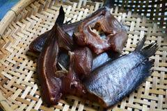 Dried Fish threshing Royalty Free Stock Photography