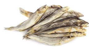 Dried fishes Royalty Free Stock Photography
