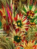 Dried flower composition Stock Photo