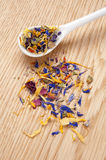 Dried flower petals Stock Photo