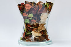 Dried flower petals Stock Image
