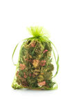 Dried flower in sachet bag Stock Photography