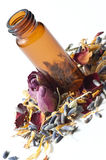 Dried flowers aromatherapy Stock Photography