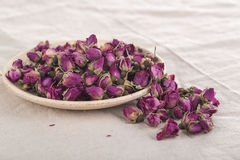 Dried Flowers Roses Stock Photo