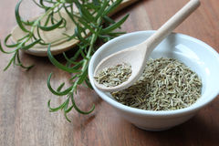 Dried and fresh Rosemary Royalty Free Stock Photo