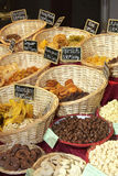 Dried fruit. In the basket Royalty Free Stock Image