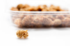 Dried fruit and the casserole Royalty Free Stock Image