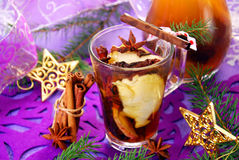 Dried fruit compote for christmas Stock Image