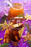 Dried fruit compote for christmas Stock Photo