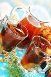 Dried fruit compote for christmas Royalty Free Stock Image