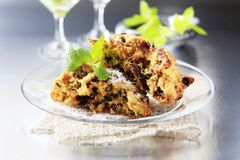 Dried fruit cookies Stock Photography