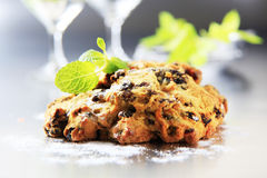 Dried fruit cookies Royalty Free Stock Photography