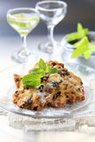 Dried fruit cookies Stock Images