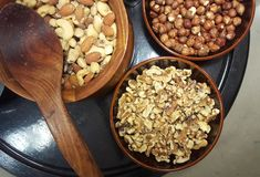 Dried fruit. Healthy food Stock Photography