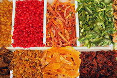 Dried fruit market Stock Images