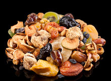 Dried fruit mix Stock Photo
