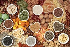 Free Dried Fruit Nut And Seed Collection Stock Photo - 163952980