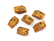 Dried Fruit and Nut Energy Bar Stock Photography