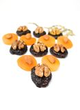 Dried fruit with nuts Royalty Free Stock Photo