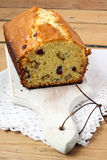 Fruit and nuts cake Stock Image