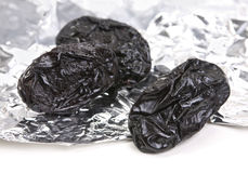 Dried fruit prune Stock Photos