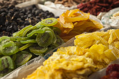 Dried Fruit For Sale Royalty Free Stock Photo