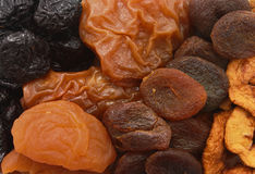 Dried fruit slices Royalty Free Stock Image