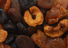 Dried fruit slices Royalty Free Stock Images