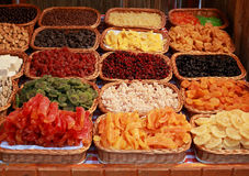 Dried fruit sweets Stock Image