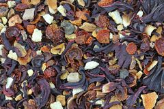 Dried Fruit tea Royalty Free Stock Images